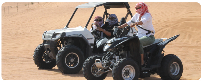 Quad Bike Hire Dubai Sharjah