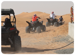 quad bike tour dubai, quad bike rental abu dhabi, Quad bike safari tour