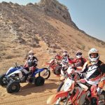 raptor quad bike ride open desert adventure tour, raptor bike rental dubai 1