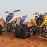 raptor quad bike ride open desert adventure tour, raptor bike rental dubai 3