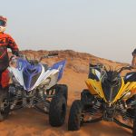 raptor quad bike ride open desert adventure tour, raptor bike rental dubai 4